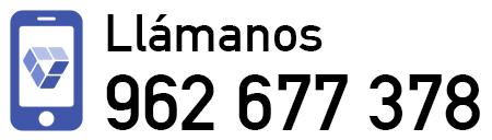 Llámanos al 962 677 378